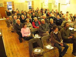 Part of the audience at an earlier debate